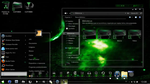 Tema GREEN GLASS Completo para windows 7 by JVR1998