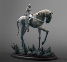 girl on horse 02 by OmrZrn
