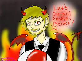EVIL PEWDS STRIKES AGAIN! by LonelyChibi