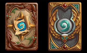 Card backs - League of Explorers Hearthstone by PlanK-69