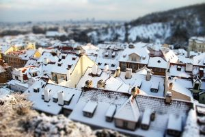 Prague tilt shift 2 by hombre-cz