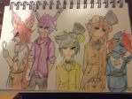 (FNAF) Gang's all here by InsanityPermitted