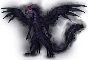 Thanatos, the Basilisk by Crystaldemon93