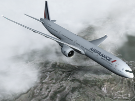 Air france Boeing 77W by tbggtbgg