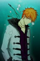 Bleach: Ichigo coloring by Miumi-U