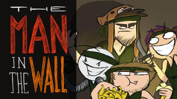 The Man in the wall - Short animation by ScribbleNetty