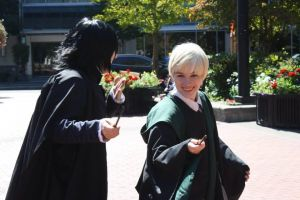 Snape you aren't suppose to laugh! by Catchmewithyourlips