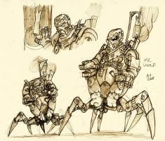 Mr Wolf Concept Sketch by Kmadden2004