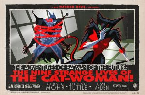 The Strange Nine Lives of The Cat-Woman! by tnperkins