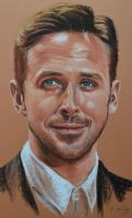 Ryan Gosling by Andromaque78