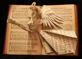 Hymnal Angel II by wetcanvas
