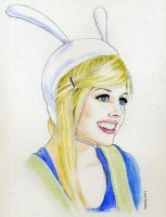 Fionna from The Adventure Time se03 ep09 by kevinkosmo