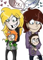 Gift - Creepy Fangirls by Twisted-G
