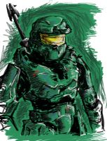 MasterChief II by Gawd-of-Sand