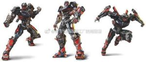 New Transformers: The Last Knight Hod Rod Renders by Artlover67