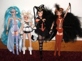 "Sailor Animamates 11"" Dolls by SetsunaKou"
