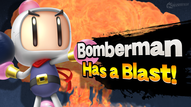 Bomberman Has a Blast! by hextupleyoodot