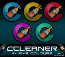 Ccleaner Icons by 0dd0ne