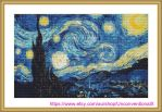 The Starry Night cross stitch pattern by JodyS