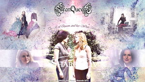 Swan Queen - The Evil Queen and her White Knight by Sharonliv-Arzets