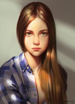 GIRL by Liang-Xing