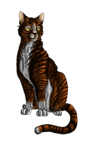 Tiger Cat by BE-arts