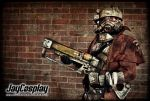 NCR Veteran Ranger 02 - AmeCon 2012 by JayCosplay