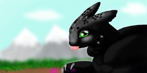 Toothless by Chiaki1313