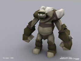 Troll - textured by Sae-Matsumoto