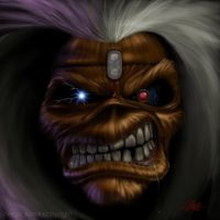Iron Maiden's Eddie by cLos71