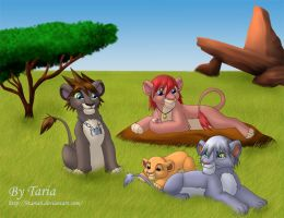 KH, LionKing World for contest by 9Taria6