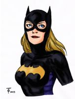 Stephanie Brown - Batgirl by lucybianchi
