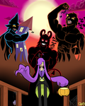 Trick or Treat...huh by RottenHeart6