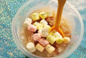 Ice con Milo with Kawaii Mallows by mylastel