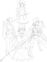 Rwby Wip (Part 9) by RunnerGuitar