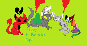 Happy St. Patrick's Day by PitchBlack2014