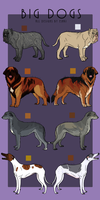 BIG DOG Adoptables -NOW OPEN- by Esaki