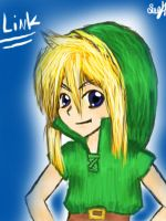Link by AnimeDrawerandFan123