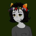 Nepeta flower crown Fixed shading by IntrovertedPanda77