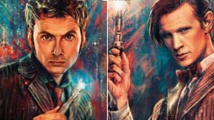 The 10th and 11th Doctors by ArcherXPhoenix