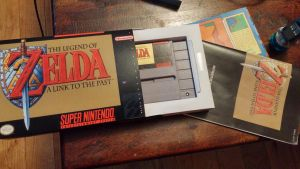 The Legend of Zelda Reproduction Box by chrisddixon