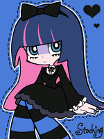 Tegaki: Stocking by isuzu9