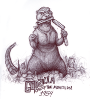 King Of The Monsters by darkoctober