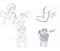 Humanized Project: Football by TheSilentSiren