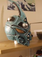 Guyver Resin Model by ForgedwithFire