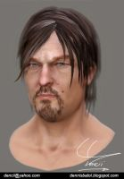 Norman Reedus as Daryl Dixon by Dencii