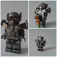 Fallout 3 style Enclave trooper by MrRammlied