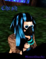 Cybergoth Chesh by MurderDollAli