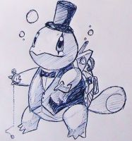 Steampunk Squirtle by SinSeaward