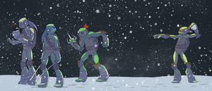 TMNT Secret Santa - Juliefofisss by Stickaroo